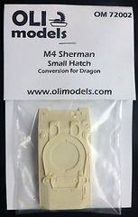 "1/72 M4 SHERMAN ""Small Hatch"" RESIN Conversion - OLI Models 72002"