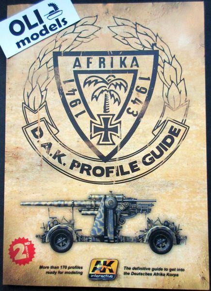 Afrika 1941-1943 DAK Profile Guide Book 2nd Edition - AK Interactive 271