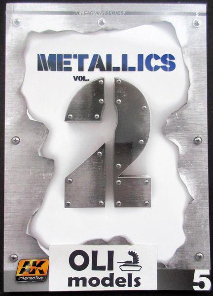 Metallics Vol.2 Learning Series Book - AK Interactive 508