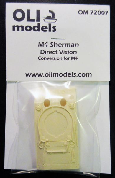 1/72 M4 SHERMAN DV Direct Vision RESIN Conversion - OLI Models 72007