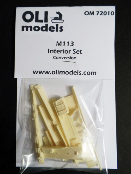1/72 M113 INTERIOR SET RESIN Upgrade Set - OLI Models 72010