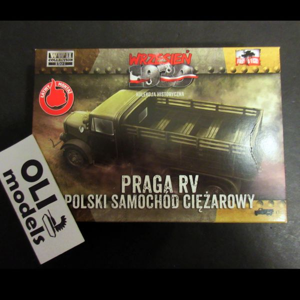 1/72 Polish Army PRAGA RV Troop Transporter Truck - First to Fight 034