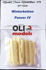 1/72 Panzer IV Ostketten WinterKetten Tracks RESIN Set - Modell Trans 72026