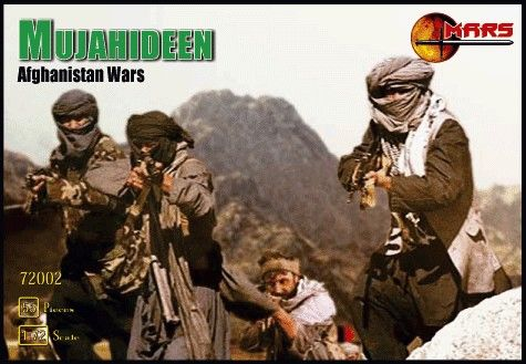 1/72 Afghanistan War Mujahideen Warriors (40) - MARS 72002