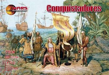 1/72 Conquistadores (30, 4 Dogs) - MARS 72019