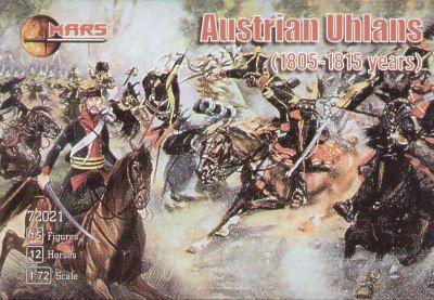 1/72 Austrian Ulans 1805-15 (12 Mtd, 3 foot) - MARS 72021