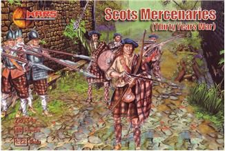 1/72 Thirty Years War Scots Mercenaries (48) - MARS 72034