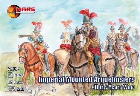 1/72 Imperial Arquebusiers (12 Mtd) - MARS 72037