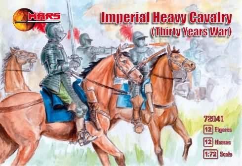 1/72 Thirty Years War Imperial Heavy Cavalry (12 Mtd) - MARS 72041