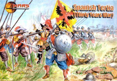 1/72 Thirty Years War Spanish Tertia (48) - MARS 72042