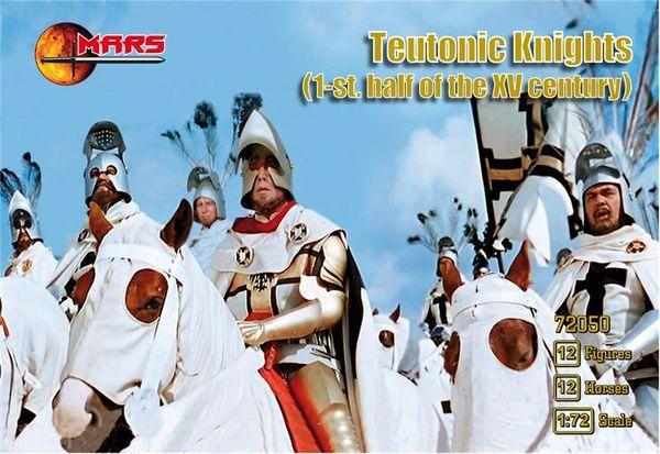 1/72 1st Half XV Century Teutonic Knights (12 Mtd) - MARS 72050