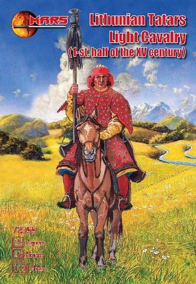 1/72 1st Half XV Century Lithuanian Tartars Light Cavalry (12 Mtd) - MARS 72055