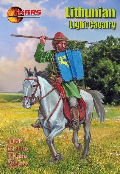 1/72 1st Half XV Century Lithuanian Light Cavalry (12 Mtd) - MARS 72056