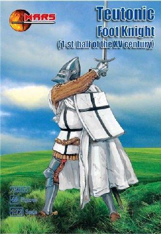 1/72 1st Half XV Century Teutonic Foot Knights (48) - MARS 72057