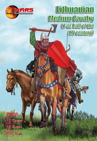 1/72 1st Half XV Century Lithuanian Medium Cavalry (12 Mtd) - MARS 72058