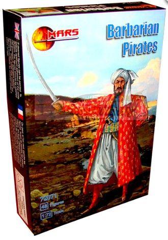 1/72 Barbarian Pirates (48) - MARS 72071