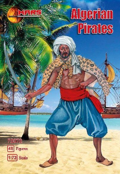 1/72 Algerian Pirates (48) - MARS 72072
