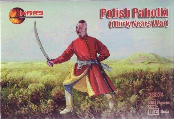 1/72 Thirty Years War Polish Pahioki (48) - MARS 72074