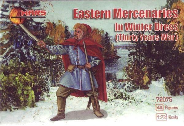 1/72 Thirty Years War Eastern Mercenaries Winter Dress (48) - MARS 72075