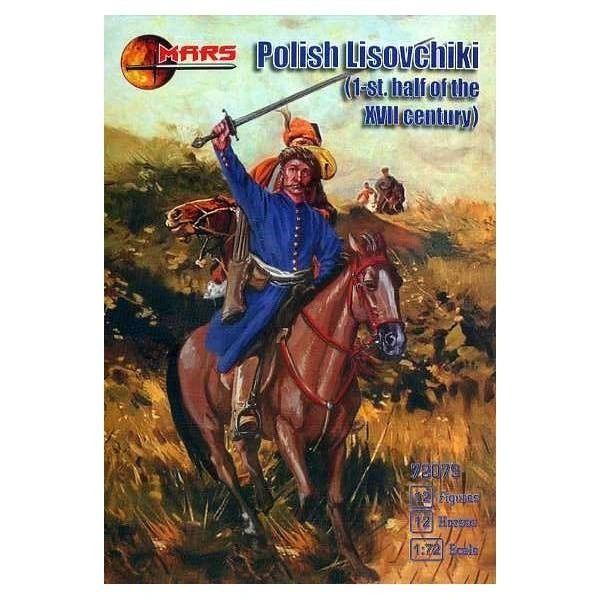 1/72 1st Half XVII Century Polish Lisovchiki Troops (12 Mtd) - MARS 72079