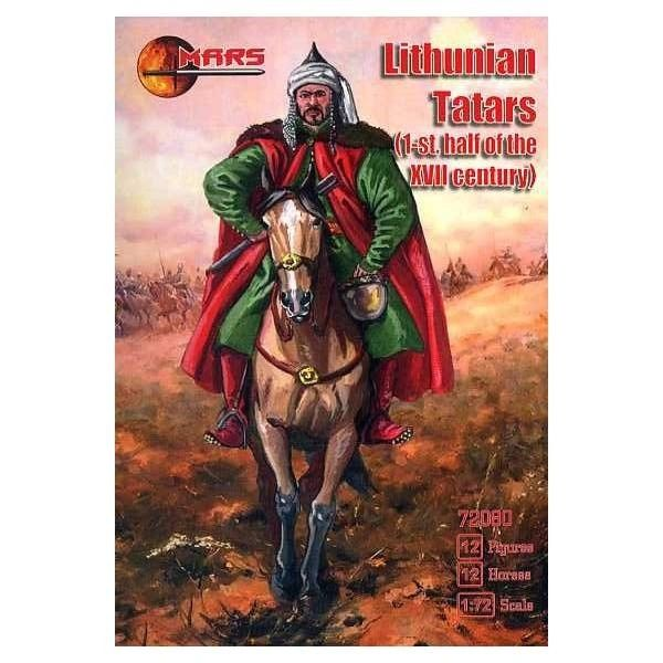 1/72 1st Half XVII Century Lithuanian Tatars (12 Mtd) - MARS 72080