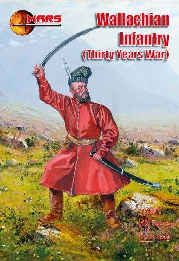 1/72 Thirty Years War Wallachian Infantry (48) - MARS 72081