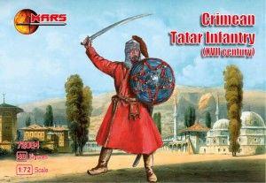 1/72 XVII Century Crimean Tartar Infantry (48) - MARS 72084