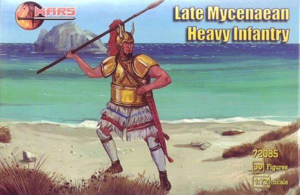 1/72 Late Mycenaean Heavy Infantry (30) - MARS 72085