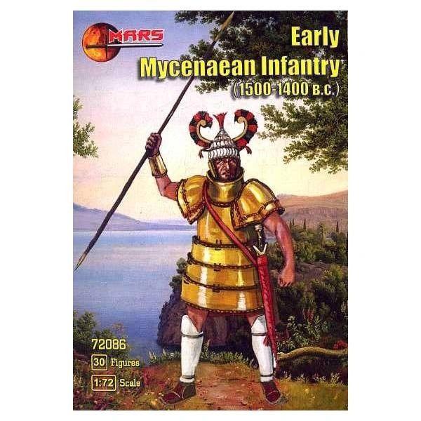 1/72 1500-1400BC Early Mycenaean Infantry (30) - MARS 72086