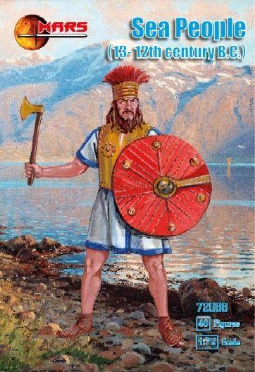 1/72 13-12th Century BC Sea People (40) - MARS 72088