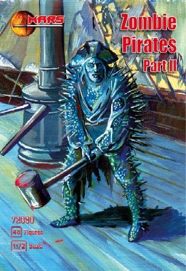 1/72 Zombie (Mutant) Pirates Part II (48) - MARS 72090