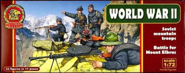 1/72 Ultima Ratio: WWII Soviet Mountain Troops Battle for Mount Elbrus (33) - MARS 720020