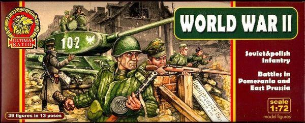 1/72 Ultima Ratio: WWII Soviet & Polish Infantry Battles in Pomerania & East Prussia (39) - MARS 720030