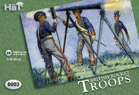 1/72 British Rocket Troops (24) - HAT-8003