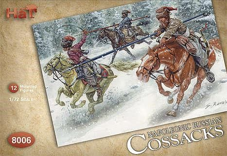1/72 Russian Cossacks (12 Mtd) - HAT-8006