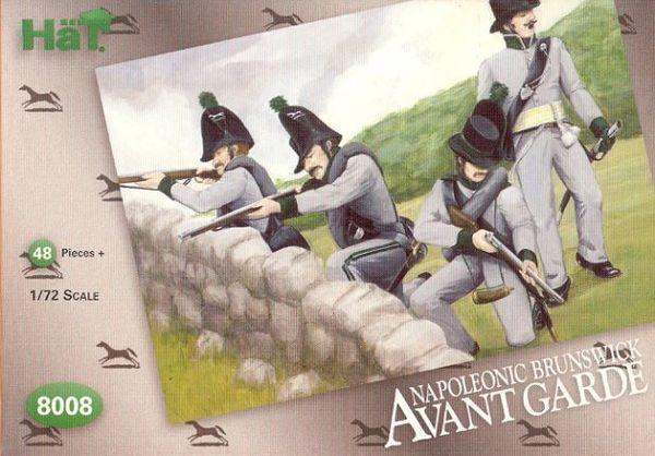 1/72 Napoleonic Brunswick Avant Garde (48) - HAT-8008