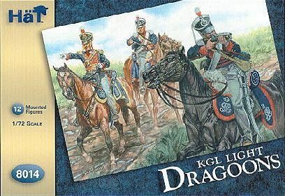 1/72 Kings German Legion Light Dragoons (12 Mtd) - HAT-8014