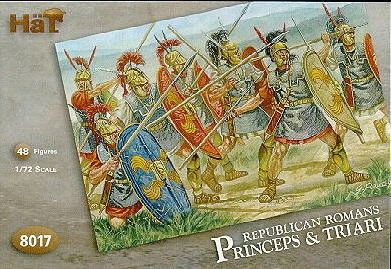 1/72 Napoleonic Republican Romans: Principes & Triarii (48) - HAT-8017