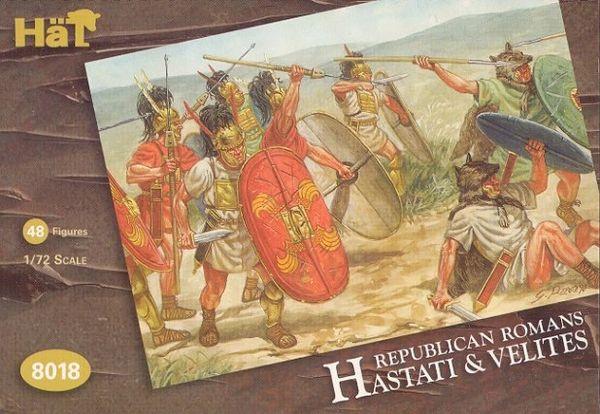 1/72 Republican Romans: Hastati & Velites (48) - HAT-8018