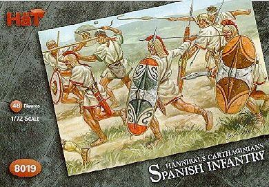 1/72 Hannibal�s Spanish Infantry (48) - HAT-8019