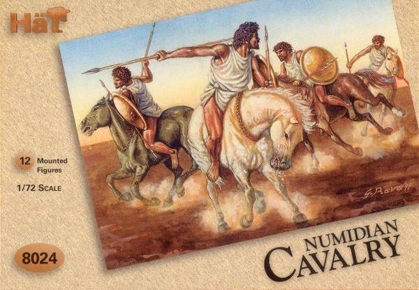 1/72 Numidian Cavalry (12 Mtd) (D) - HAT-8024