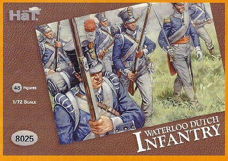 1/72 Waterloo Dutch Infantry (48) - HAT-8025
