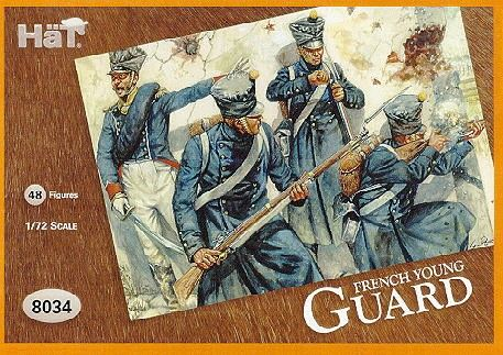 1/72 French Young Guard (48) - HAT-8034