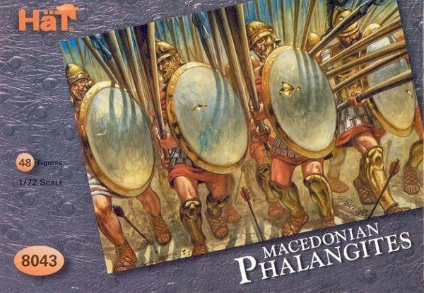 1/72 Macedonian Phalangites (48) - HAT-8043