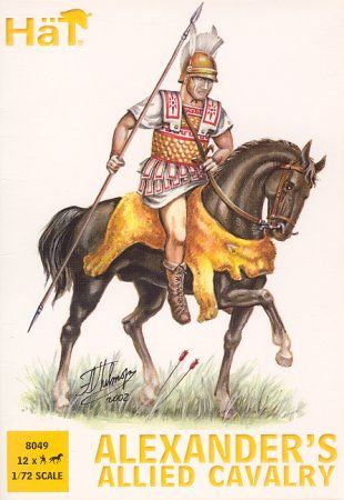 1/72 Alexander's Allied Cavalry (12 mtd) - HAT-8049