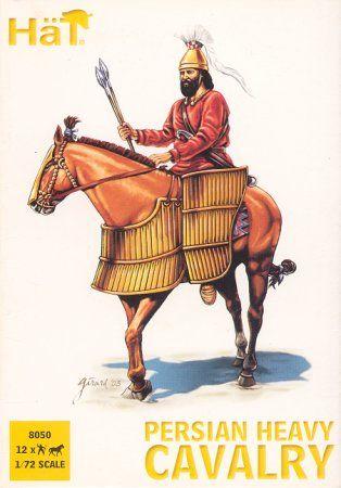 1/72 Alexander the Great Persian Heavy Cavalry (12 mtd) - HAT-8050