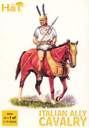 1/72 Punic War Italian Ally Cavalry (12 mtd) - HAT-8054