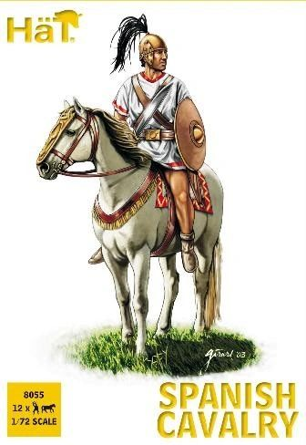 1/72 Punic War Spanish Cavalry (12 Mtd) - HAT-8055