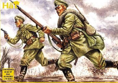 1/72 WWI Russian Infantry (48) - HAT-8061