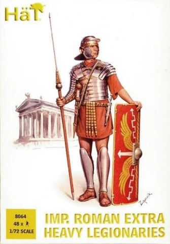 1/72 Imperial Roman Extra Heavy Leagionaries (48) - HAT-8064